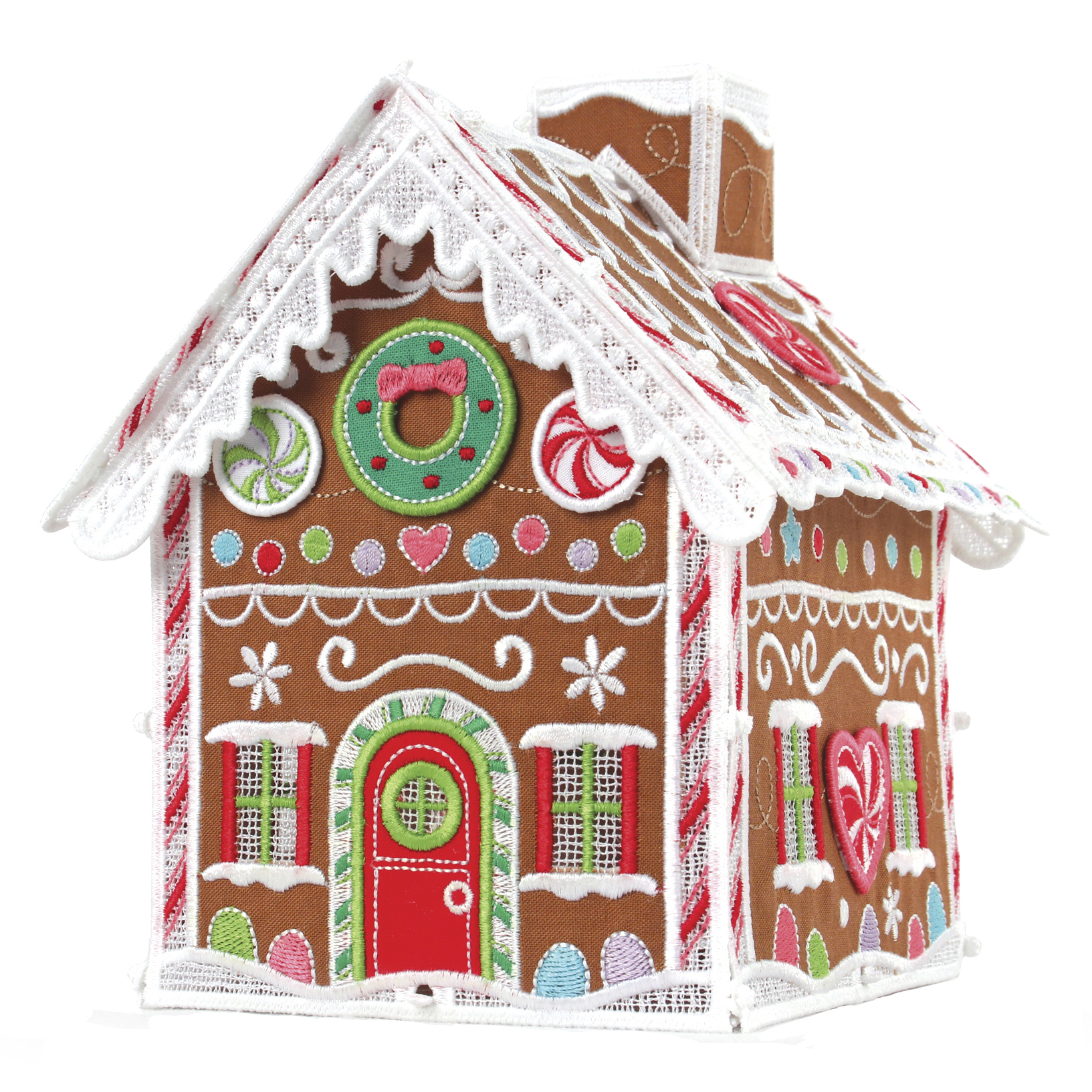 Freestanding Gingerbread House CD