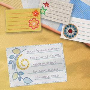Memorable Quilt Labels CD