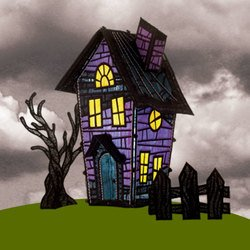 Freestanding Haunted Mansion 12830
