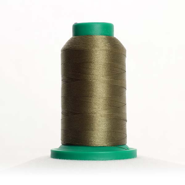 0454 Olive Drab Polyester Thread Isacord 1094yd