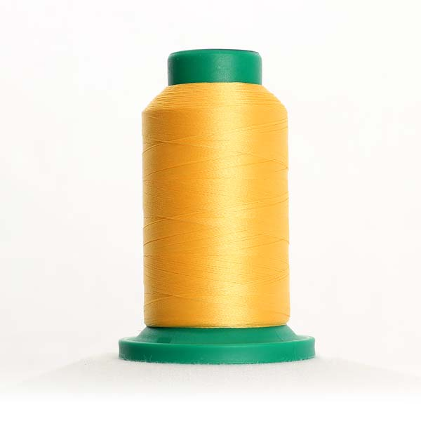 0713 Lemon Polyester Thread Isacord 1094yd