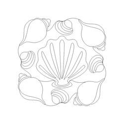 Seashells Quilting by Amanda Murphy USB
