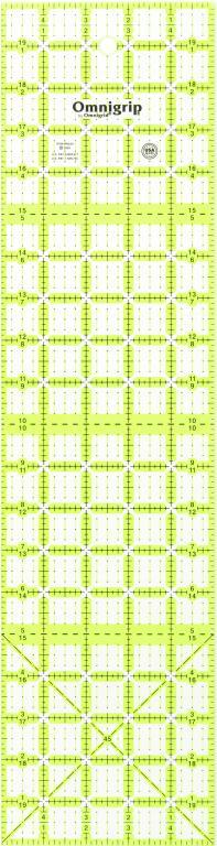 5 Inch x 20 Omnigrip Ruler-RN520 | Omnigrid