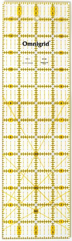 4 Inch x 14 Inch Omnigrid Ruler