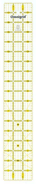 3 Inch x 18 Inch Omnigrid Ruler