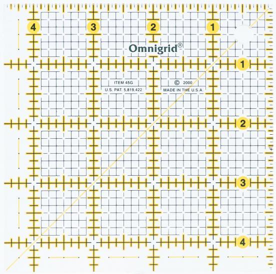 Omni 4.5 x 4.5 ruler