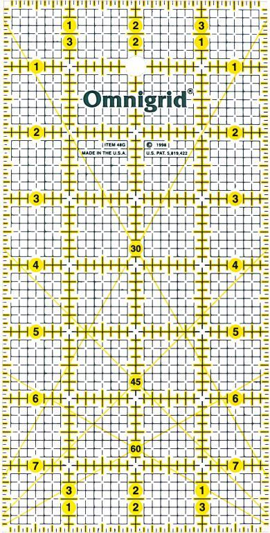 Omni 4 x 8 Ruler