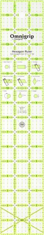 3x16 Omnigrip Ruler RN316