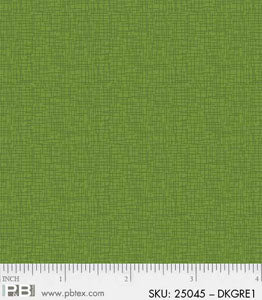 Basically Hugs Dark Green Linen Texture 25045 DKGRE1