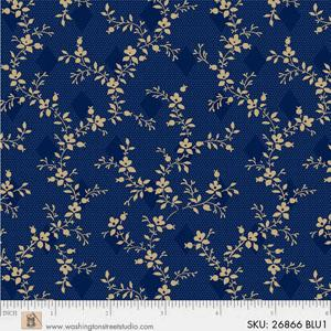 108 in wide backing BLUE