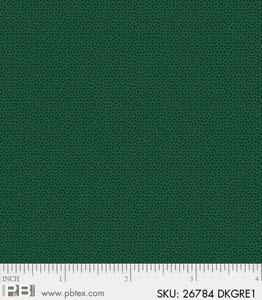 Crystals - Dk Green