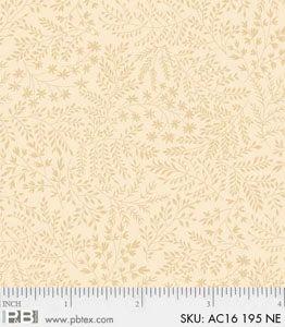 P&B Textiles Apple Cider AC16 195-NE Tan Branches