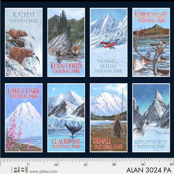 Alaska Natinal Parks Panel 29-3024