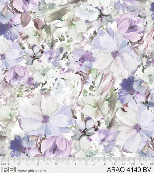 Arabesque Floral - Violet