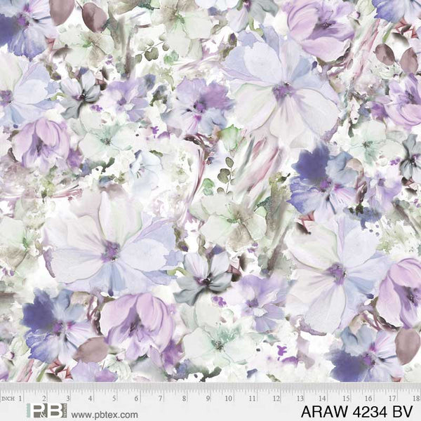 Arabesque - Blue/Violet 108 Wide
