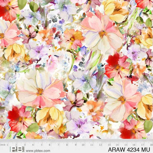 Arabesque - Multi Color 108 Wide