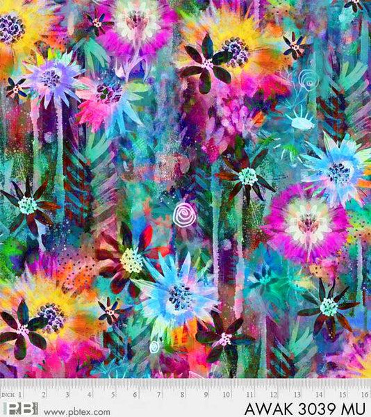 AWAKENING  3039 MU Digital (Distinct Multi Floral)