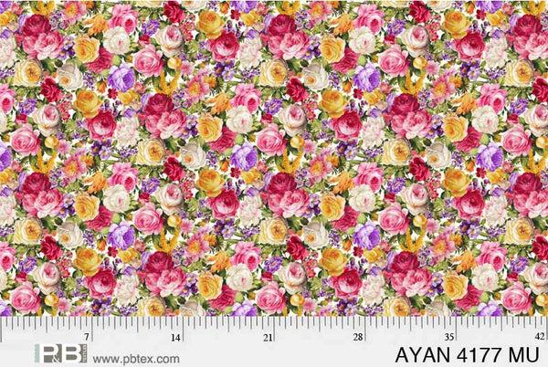 AYAN Allover Roses 4177