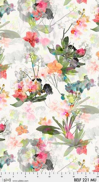 Belle Fleuer 221MU Large Floral Multi