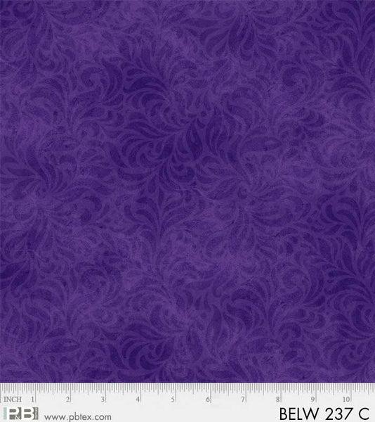 108in - Bella Suede - Purple - 108 inch Wide Quilt Backing - P & B Textiles - BEL237-C - 1363182420079