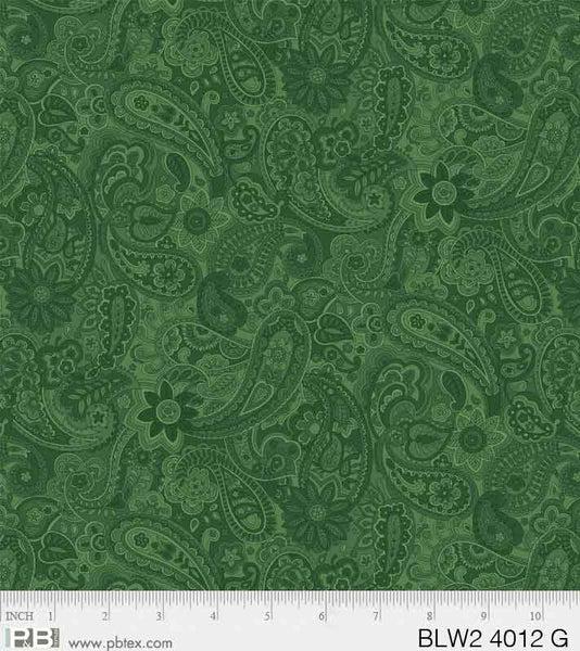 PB Green Bella Suede BLW2 4012