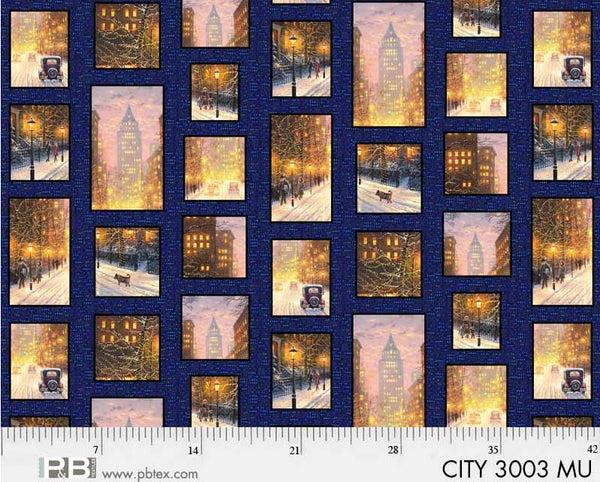 City Lights City Patchwork