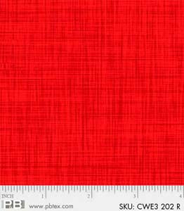 Color Weave Medley Red
