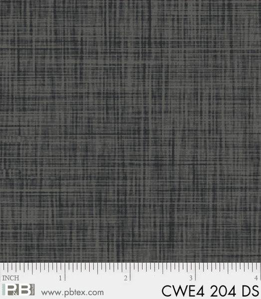 P & B Textiles Color Weave black DS