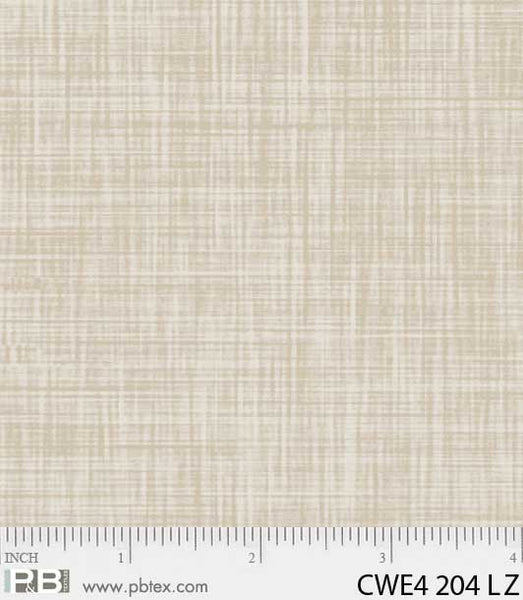 P & B Textiles Color Weave beige LZ