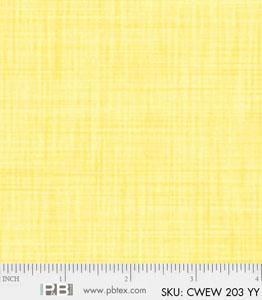 24 x 108 Color Weave Yellow Remnant