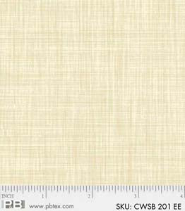 P & B Textiles Color Weave oyster EE