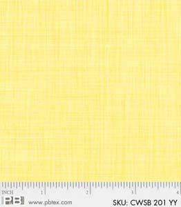 Color Weave Soft Brights yellow