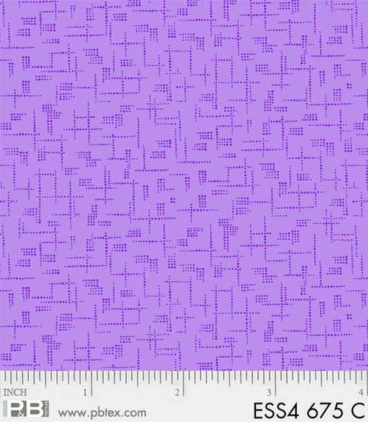 ESS4 675 C Purple Crisscross Lines