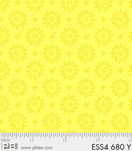 Bear Essentials Dots Geo Yellow