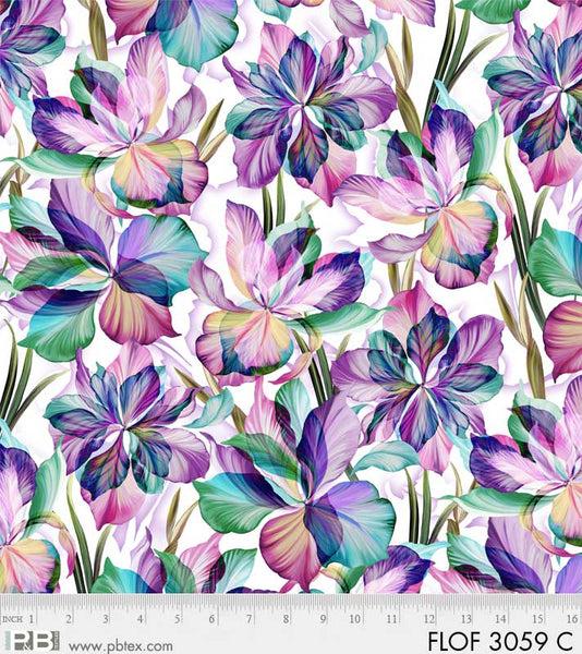 Flora Fantasia - Pink & Blue Flora