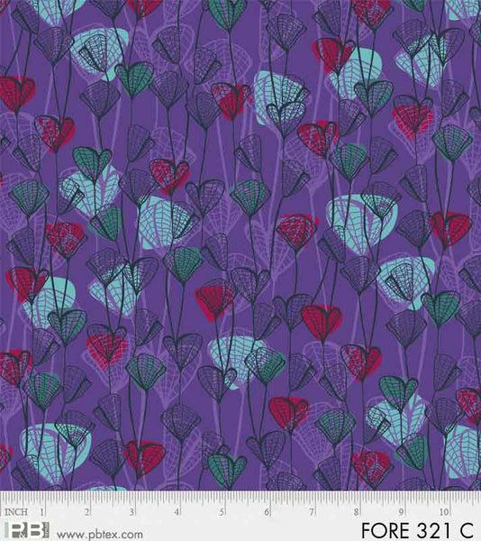 PB- Forest Fancies Purple Leaves