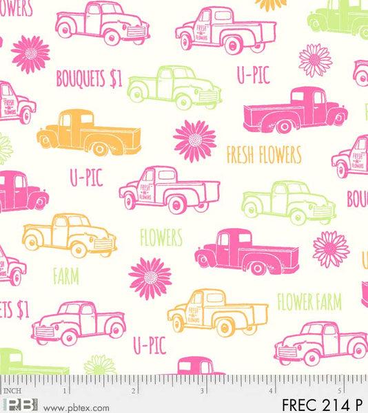 Fresh Country Trucks Pink