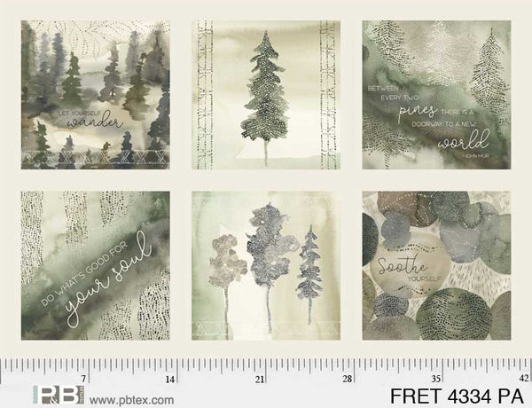 Forest Retreat FRET4334PA   #180