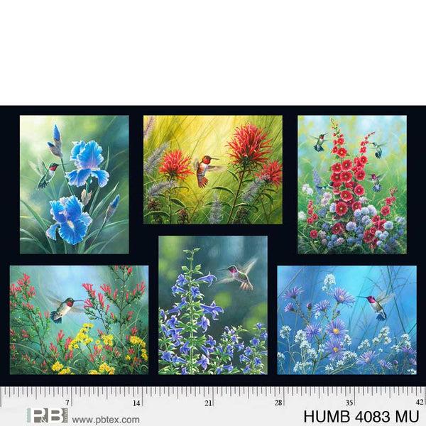 Hummingbirds Digital Panel