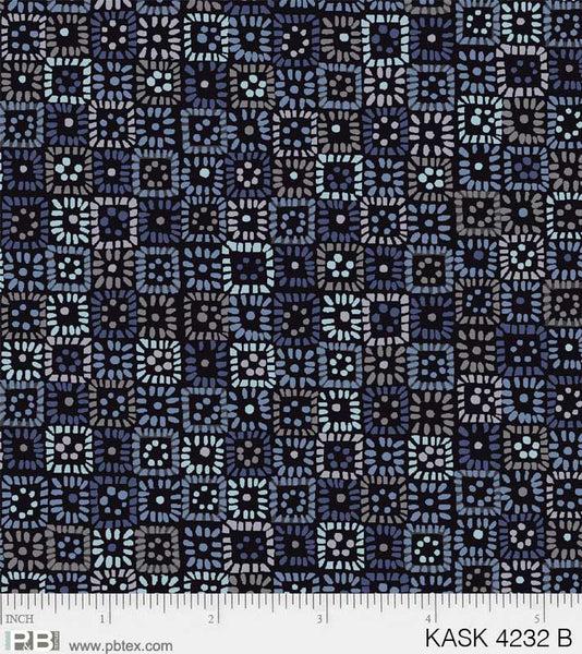 Kashmir Kaleidoscope Squares B