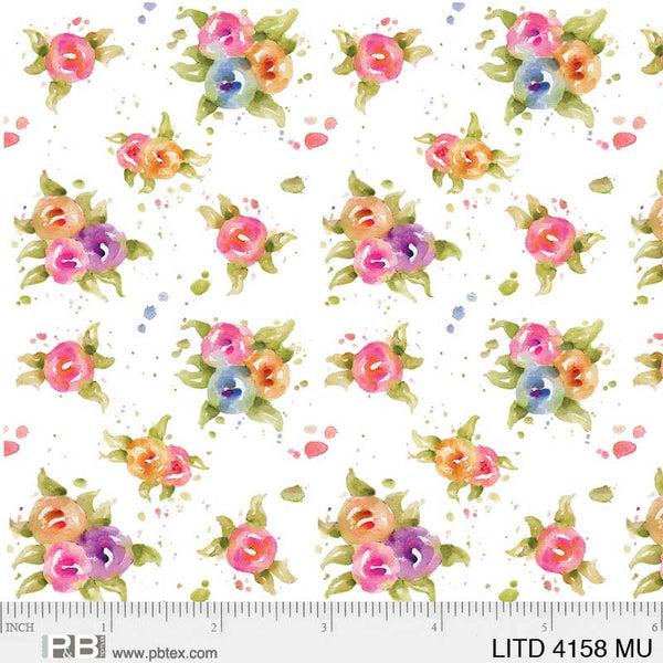 Little Darlings Flowers Multi 4158