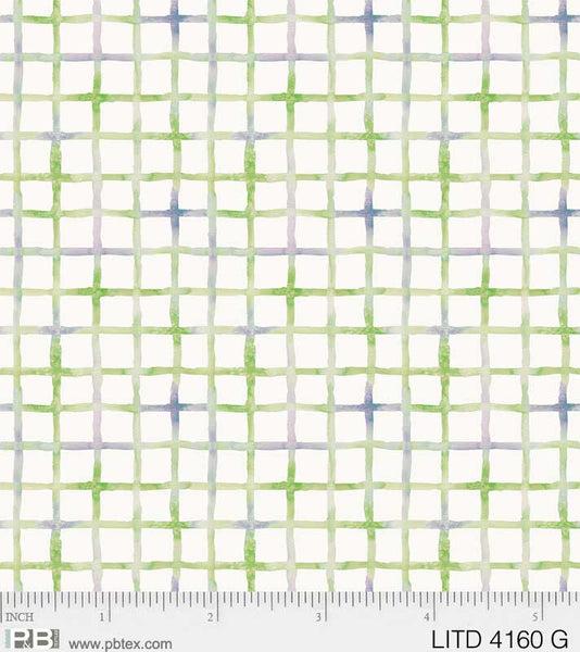 Little Darlings Green Check LITD 4160 G