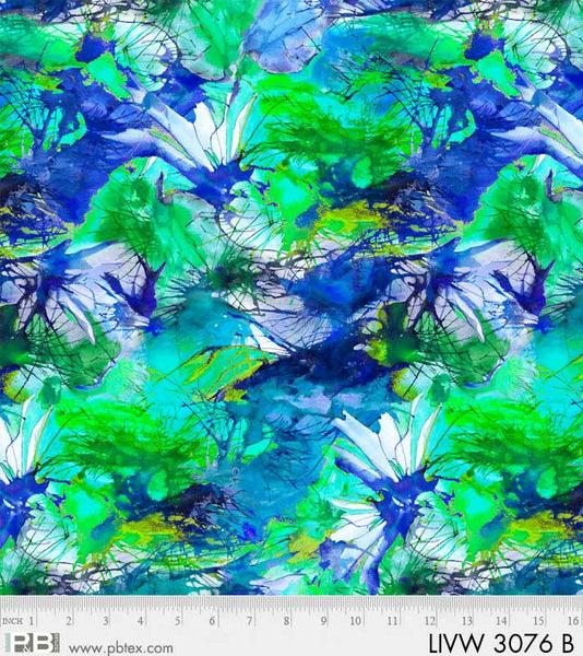Living Wild Blue Texture