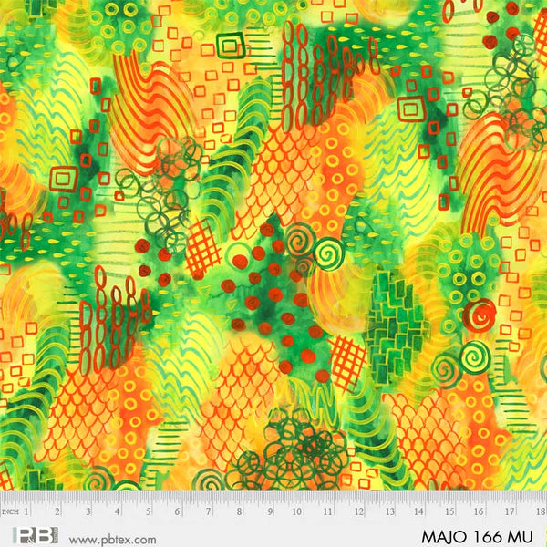MAJESTIC OWLS Digital 166 MU (Abstract Spiral Multi)