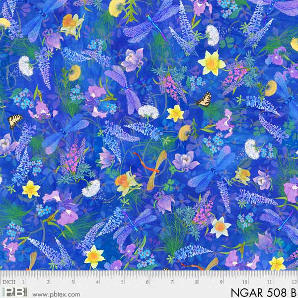 Natures Garden - Blue