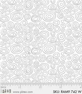 P & B Textiles-Ramblings  742-W