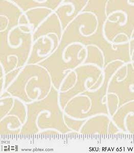 Rambling Favorite Swirly WHITE