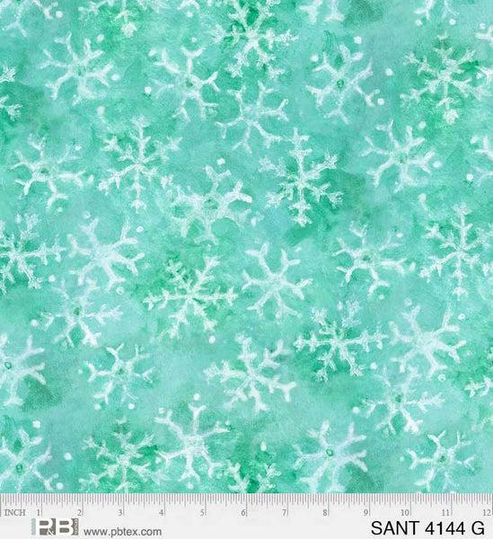P&B Silly Siberians Snowflake Green