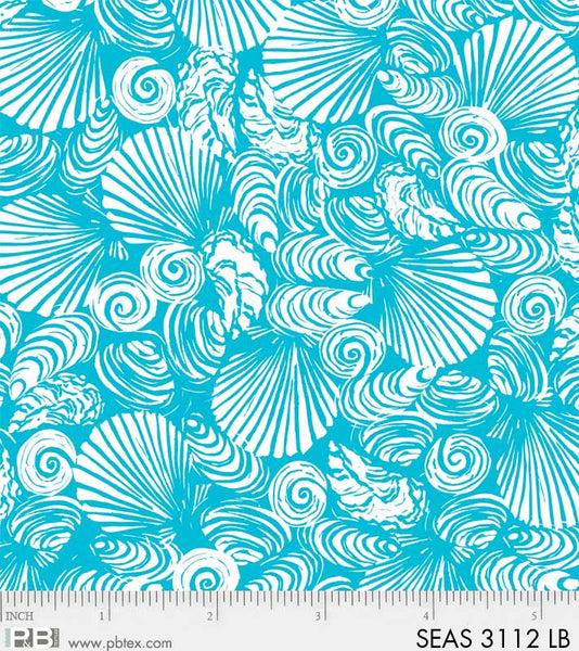 Seashore 3112 LB Sea Shells Light Blue
