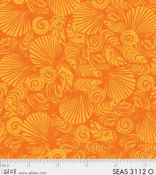 Seashore 3112 O Sea Shells Orange